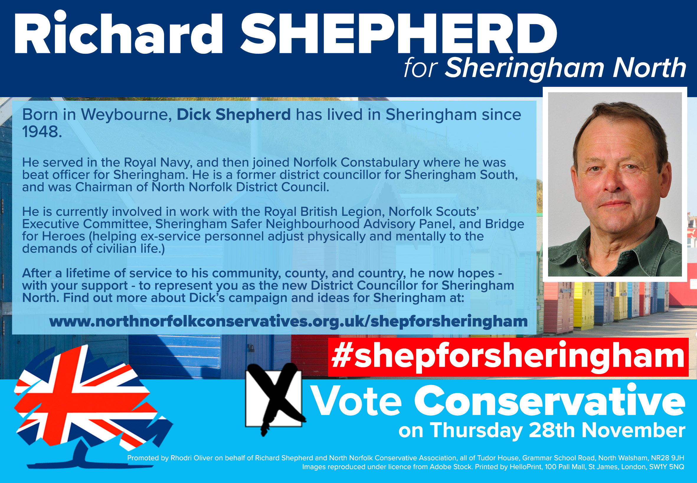 Richard Shepherd for Sheringham North