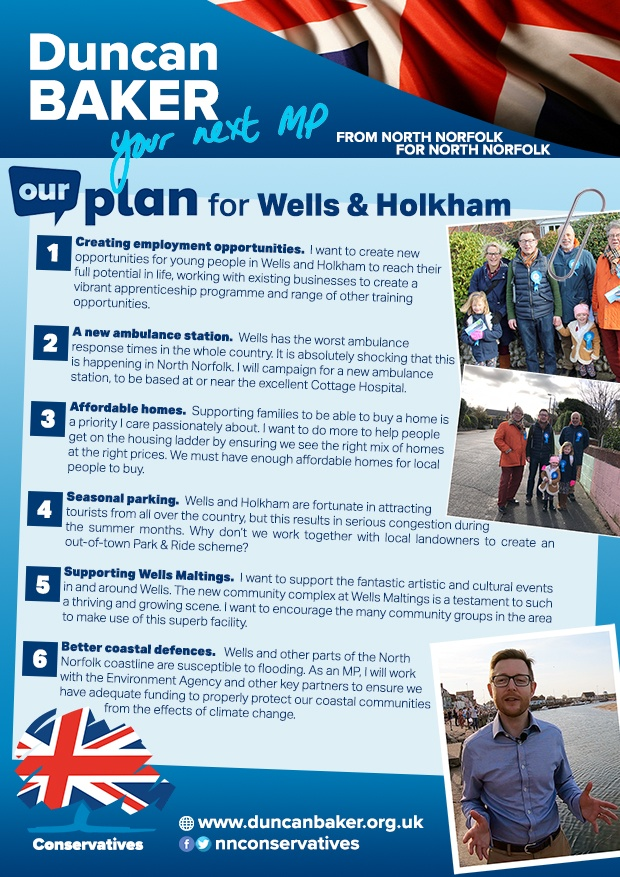 Our Plan for Wells & Holkham