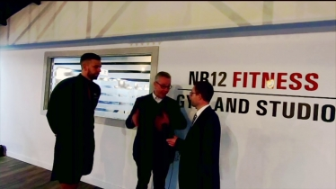 Embedded thumbnail for Michael Gove visits Oyster Yachts and NR12 FITNESS